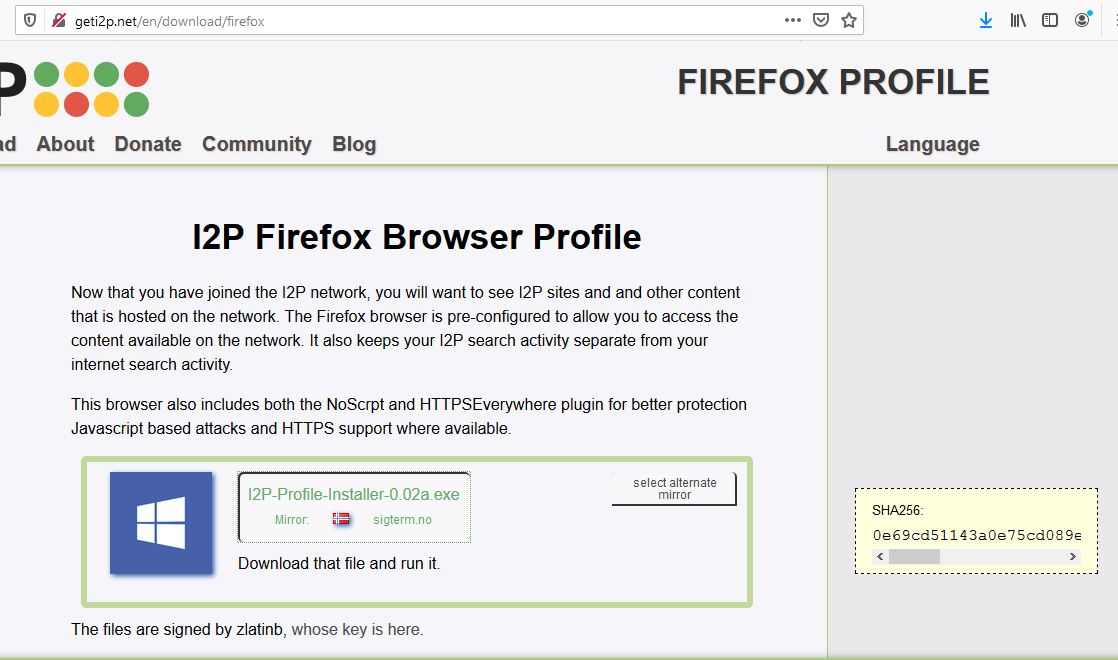 Grab the Firefox Profile